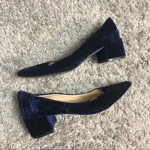 Zara Velvet Heels.